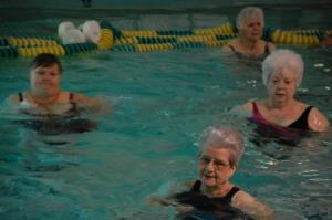 Water aerobics ladies